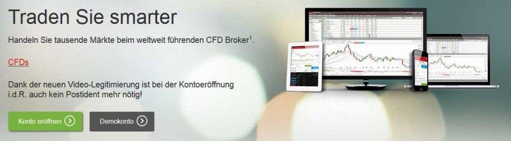 Aktien Broker Vergleich - IG Markets