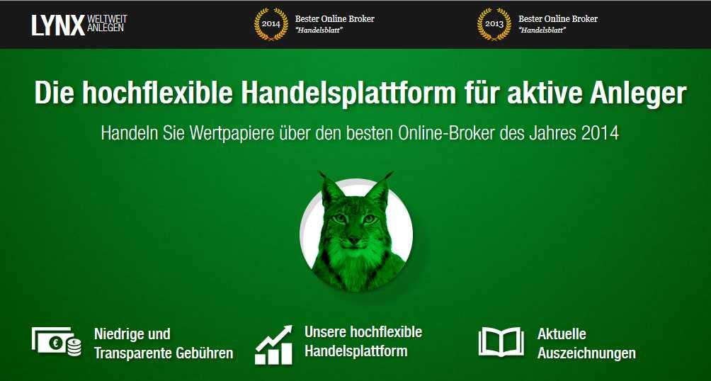 Aktien Broker Vergleich - Lynx