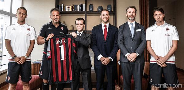 GKFX wird Partner des AC Mailand