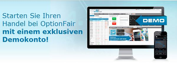 Brokervergleich - OptionFair Demokonto