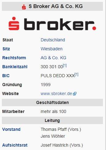 S Broker – Wikipedia