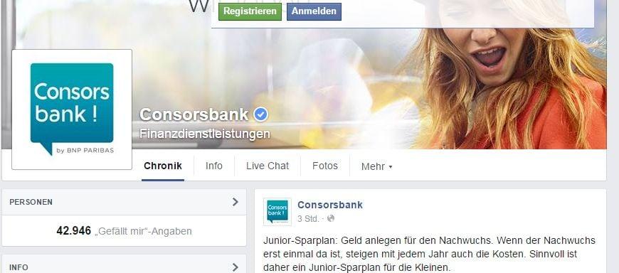 Consorsbank - Nürnberg - Finanzdienstleistungen I Facebook