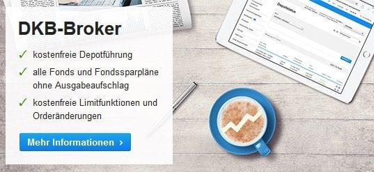 DKB Erfahrungen - Webseite