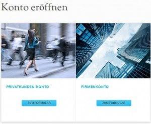 JFD Brokers Erfahungen - Anmeldung 1