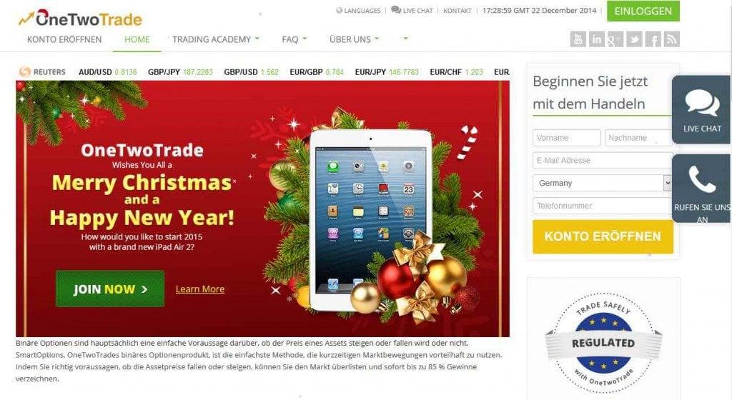Binare optionen 60 handeln online