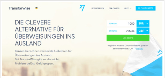 transferwise website