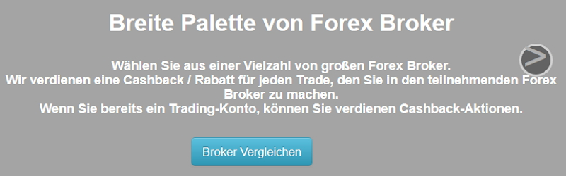 Cashbackforex mit Forex Ca$hback Rebate