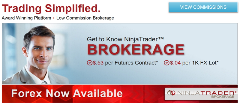 Forex Broker mit dem Ninjatrader nutzen