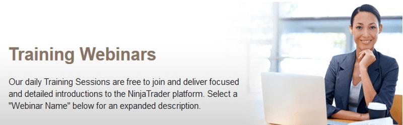 Ninjatrader bietet kostenlose Webinars