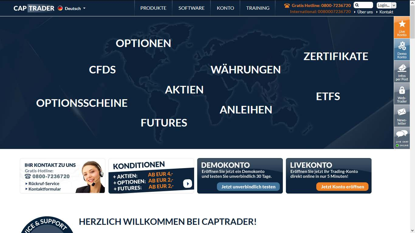 Us options trader erfahrungen