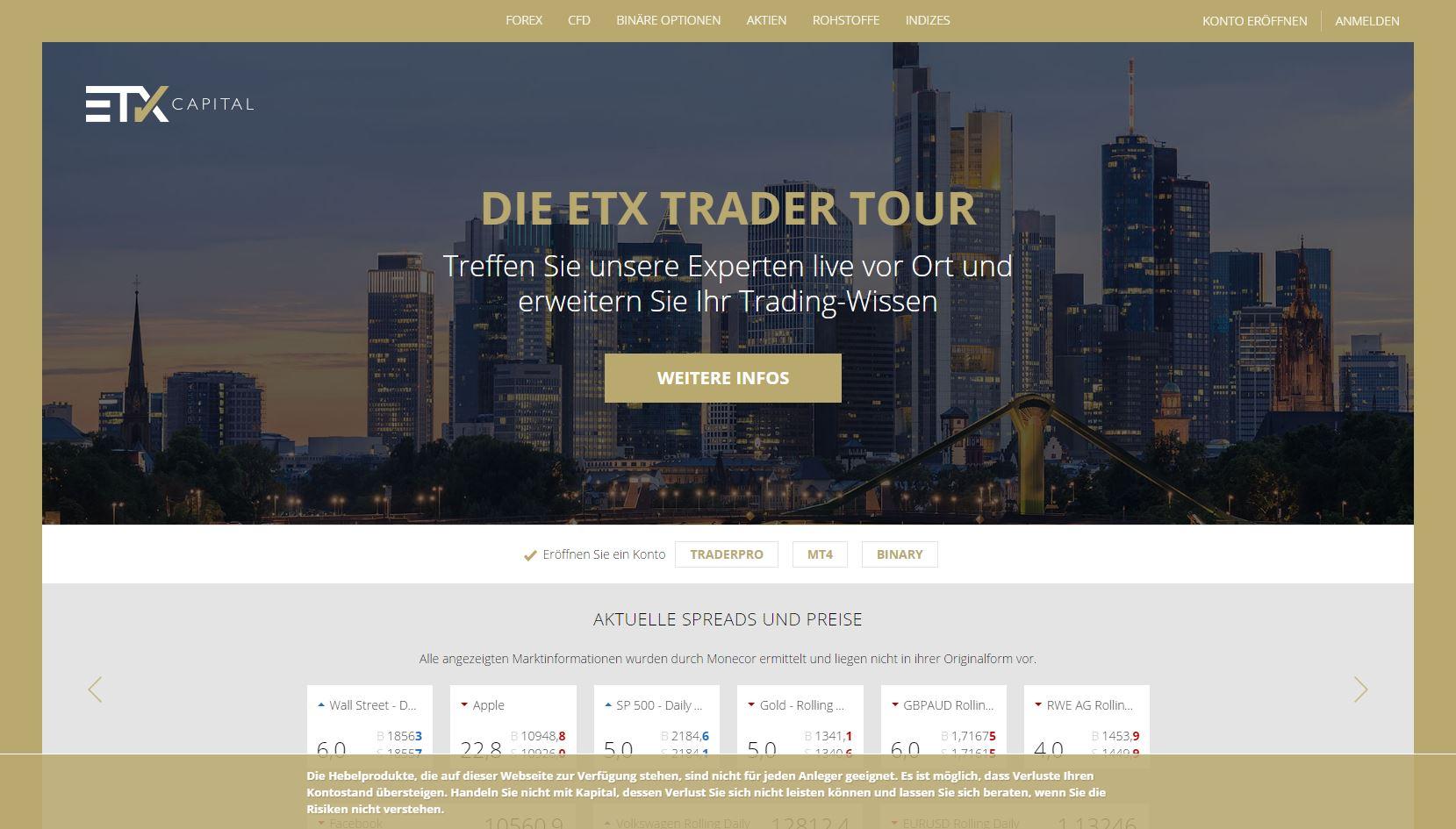 ETX Homepage