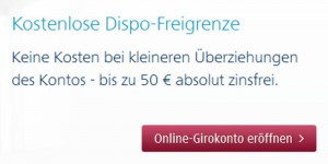 Targo Bank bietet kostenlose Girokonto Überziehung