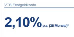 VTB Festgeld