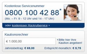 Mietkautionsversicherung von Eurokaution