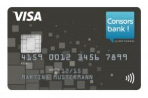 Studentenkreditkarte der Consorsbank!