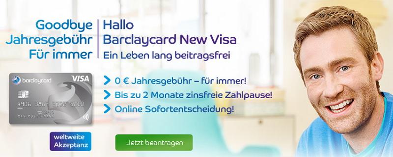 Studentenkreditkarte von Barclaycard