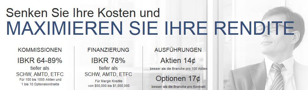 Interactive Brokers - Konditionen