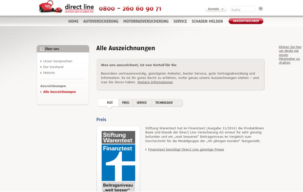 Direct Line Erfahrungen Einer Der Besten Kfz Versicherer