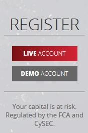AFX Capital Erfahrungen - Anmeldung