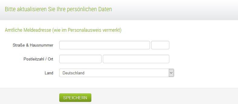 Fidor Bank Erfahrungen - Online Formular 3