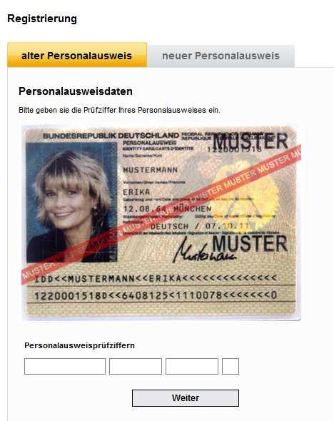Meine SCHUFA Erfahrungen - Personalausweis