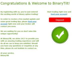 The binary trader erfahrung