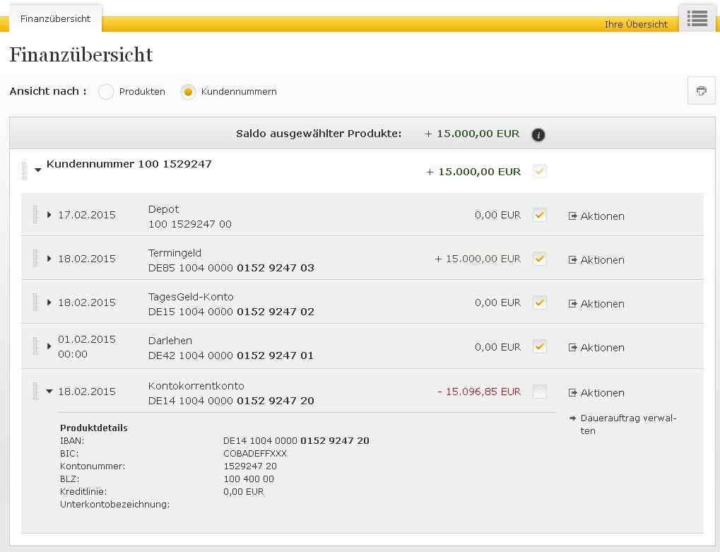 Commerzbank Onlin