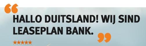 Eröffnen Sie jetzt ein Tagesgeldkonto mit attraktivem Zinssatz_ - LeasePlan Bank