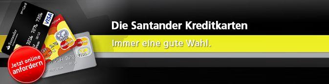 Santander Consumer Bank - Kredite, Kreditkarten, Geldanlage_ Kreditkarten Landi