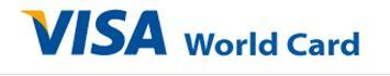 Visa World Card, die weltweit am häufigsten akzeptierte Kreditkarte Visa World