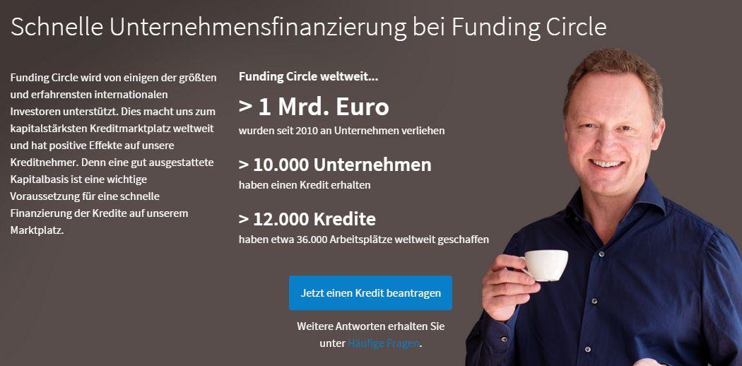 Zencap wird Funding Circle Kredit beantragen