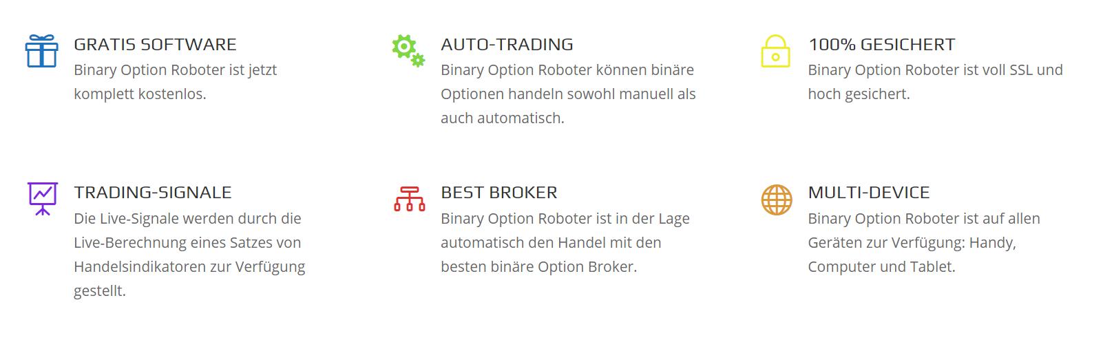 Binary option robot erfahrungen