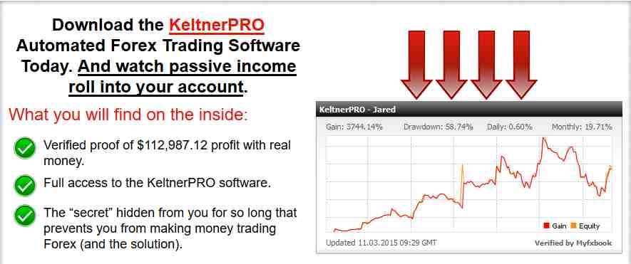 KeltnerPro Erfahrungen - Webseite