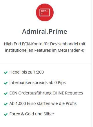 Forex Trading - Admiral Markets ECN