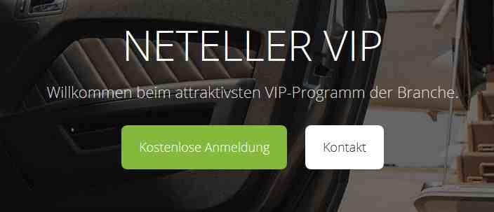 Neteller Erfahrungen - VIP
