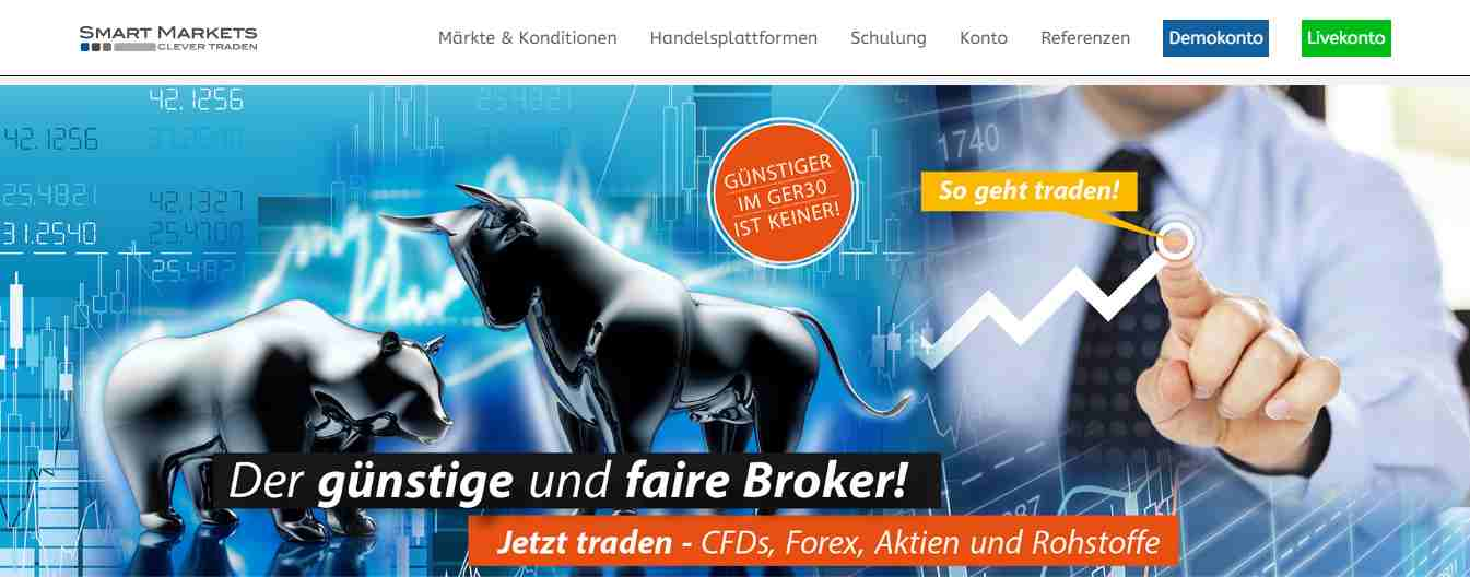 Smart Markets Erfahrungen - Header