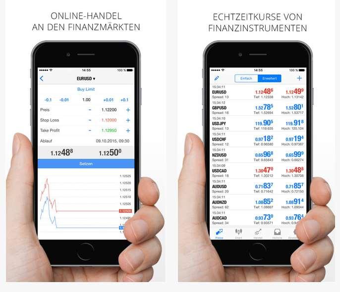 Varengold App - Überblick