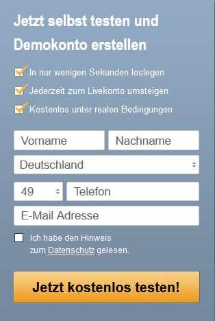 Varengold App - Demokonto