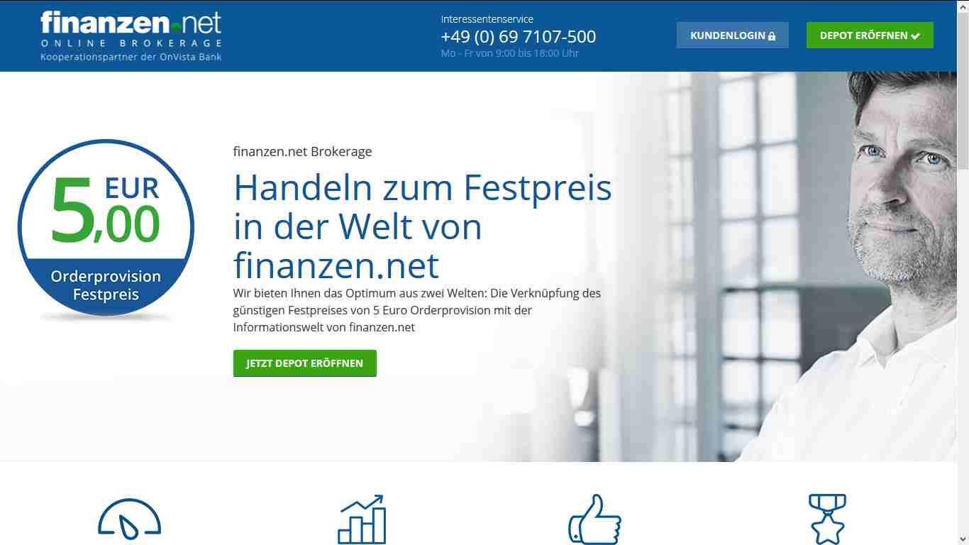 Finanzen.net - Webseite