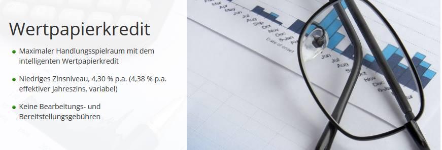 Finanzen.net - Wertpapierkredit