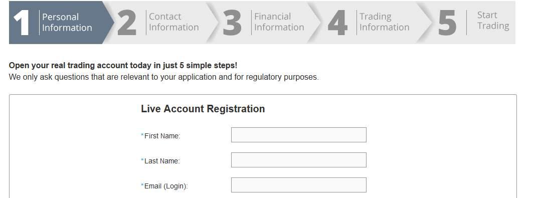Trade.com - Online Formular