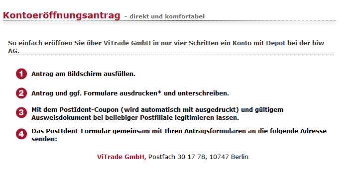 D deutsche online brokerage