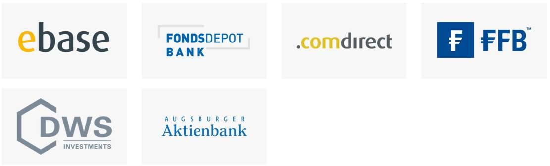 FondsSuperMarkt - Partnerbanken