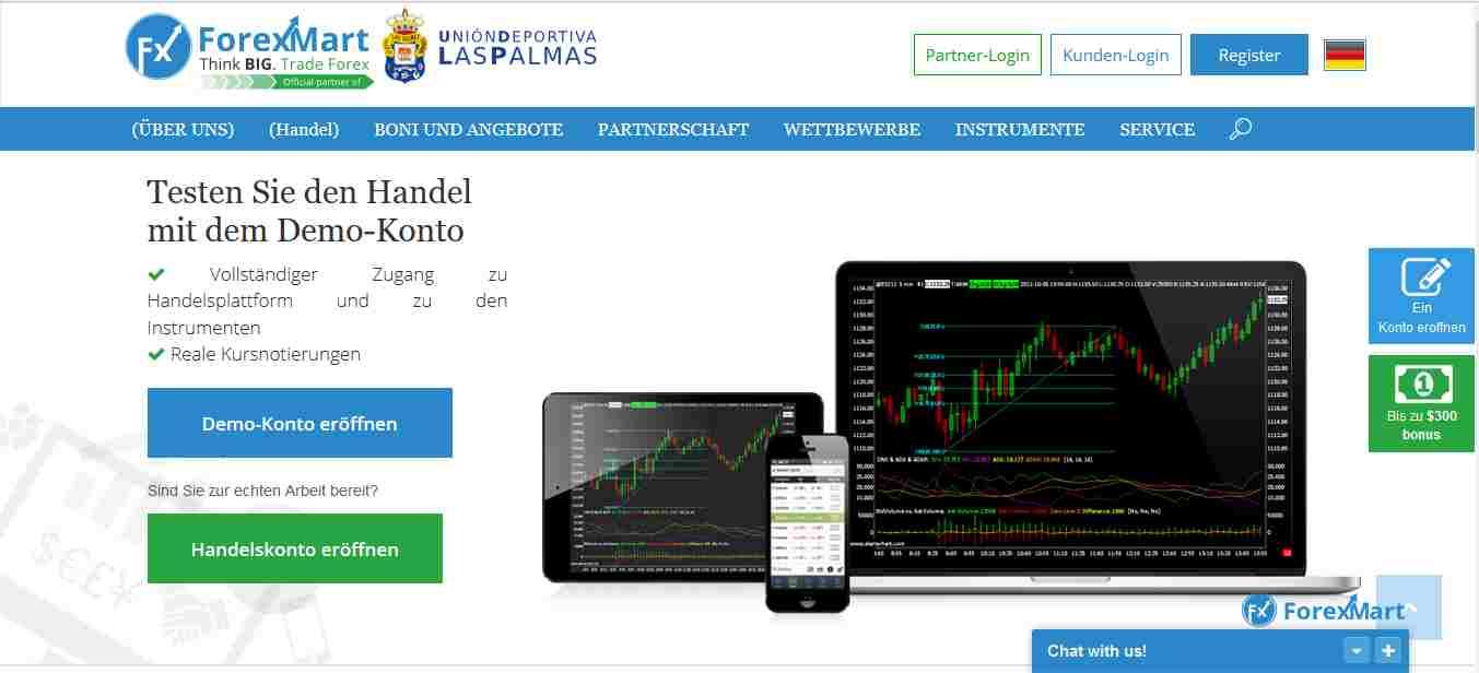 ForexMart Erfahrungen – Testbericht für Forex Trading