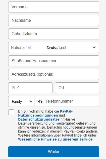 Sepa Lastschrift Paypal