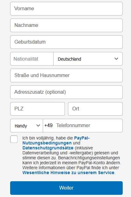 paypal konto erfahrungen