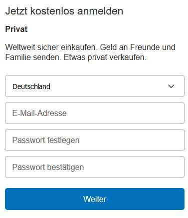 Paypal Bewertung Erfahrungen
