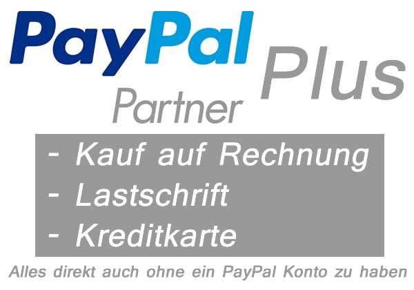 PayPal Erfahrungen - Konto PLUS