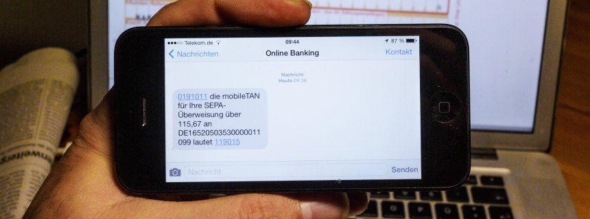 Online-Banking - M-Tan