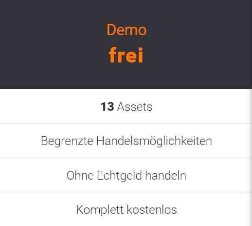 Aktien trading demokonto testen